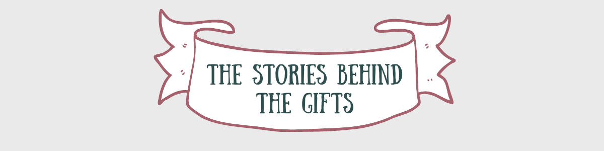 podcast peggy and finn stories behind the gifts