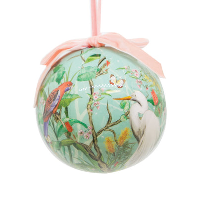 Aussie-Xmas-Large-Bauble-Birds-Chinoiserie-single