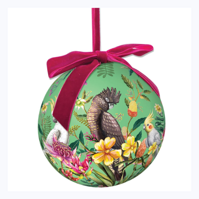 Australian Xmas Large Bauble Floral Paradiso