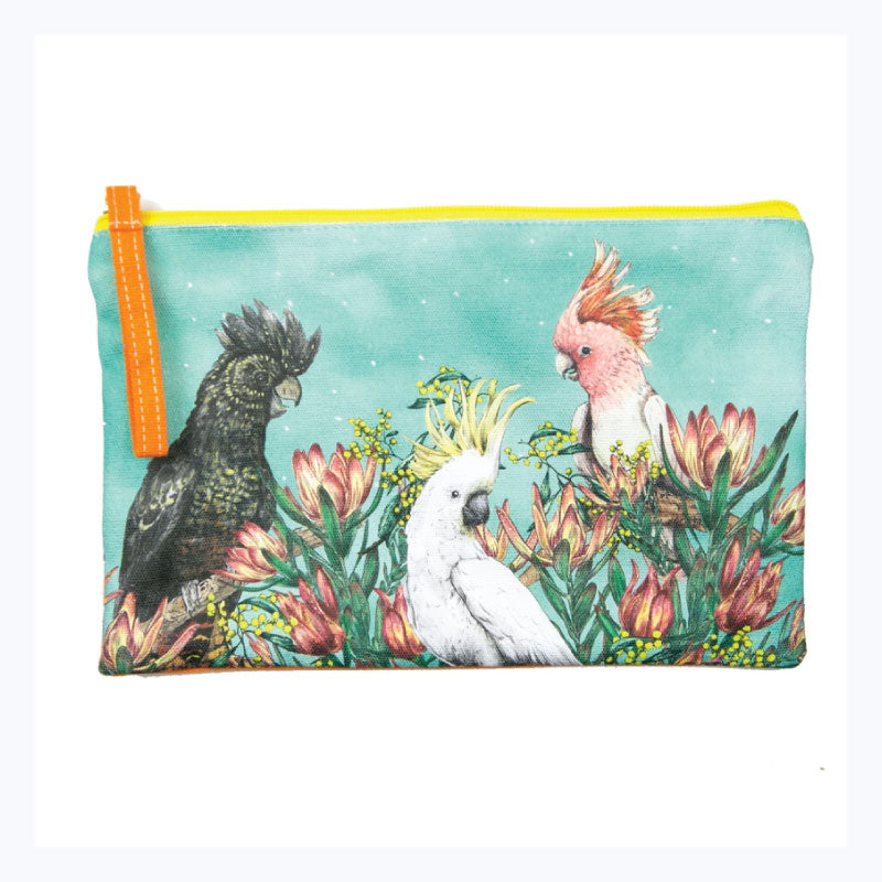 Birds-of-Australia-Clutch-Purse