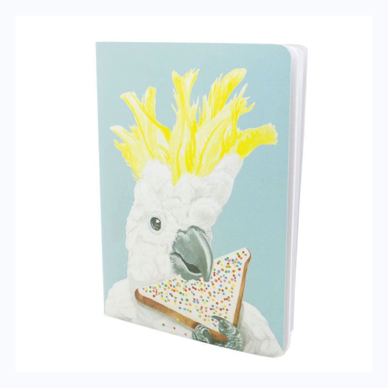Cockatoo-soft-cover-notebook