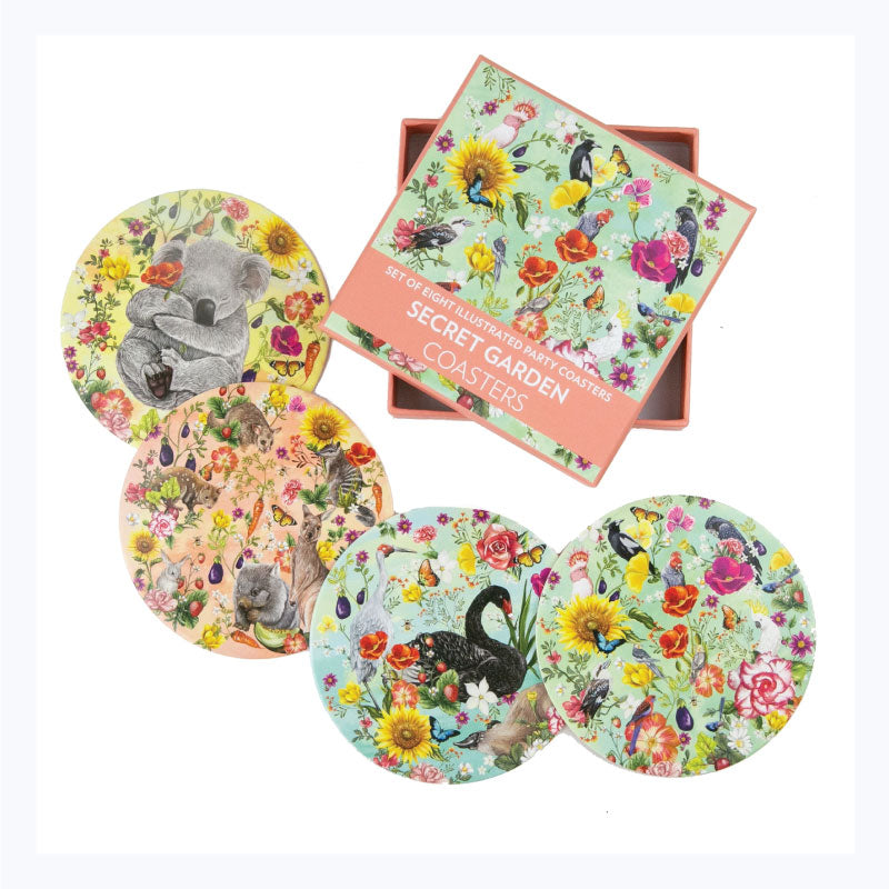 Drink-Coasters-Secret-Garden
