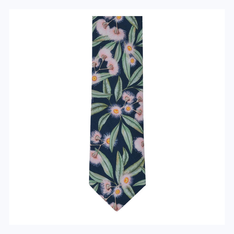 Flowering-Gum-Tie-Australian-floral-mens-ties