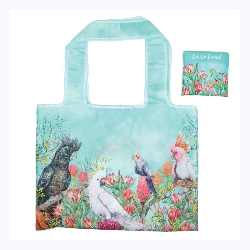 Foldable-shopping-bag-cockatoos-of-Australia
