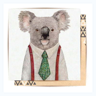 Greeting-Card-G'day-Koala