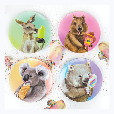Ice-Cream-Critters-Melamine-Plate-Set