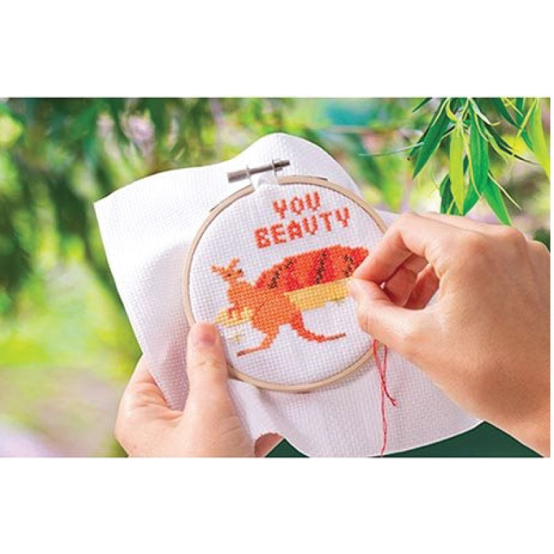 Cross stitch kit aussie animals
