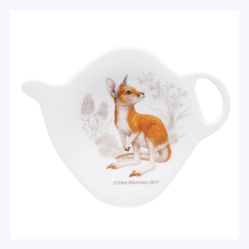 Kangaroo-Teabag-holder