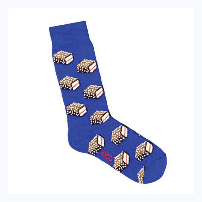 Lamington-socks-blue