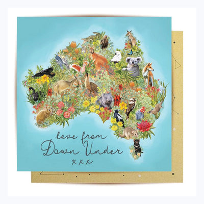 Love-from-Down-Under-Greeting-Card-Front