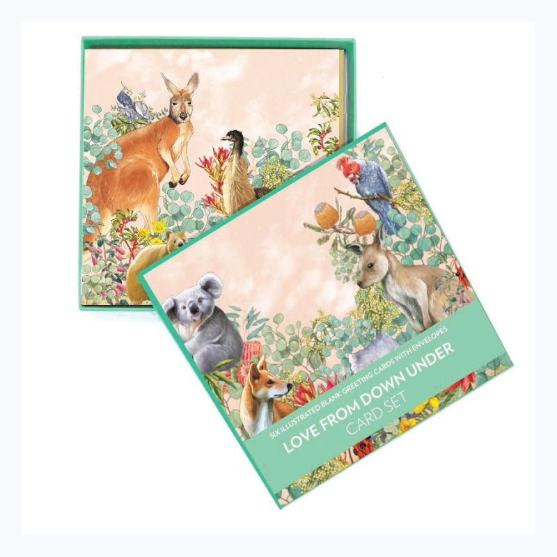 Love-from-Down-under-greeting-card-set