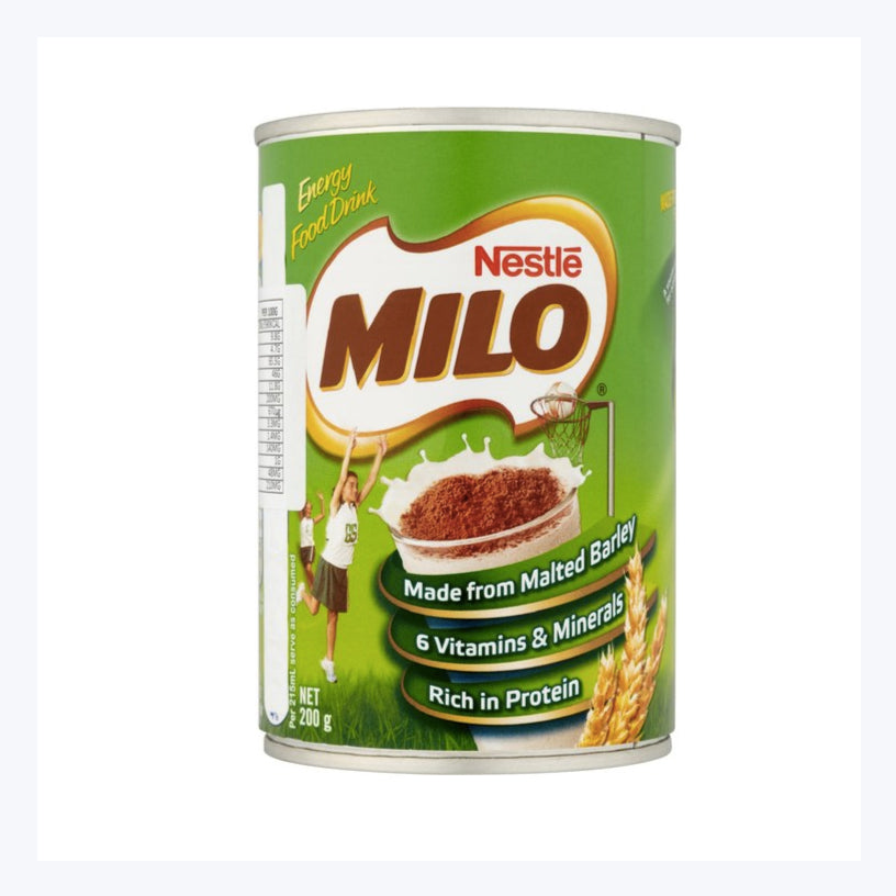 Typical Australian snack milo