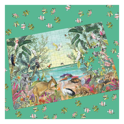 natures dwelling tropical jigsaw puzzle