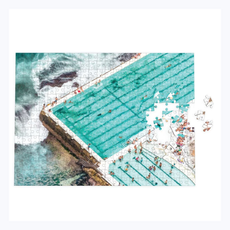 puzzle bondi beach icebergs destination label