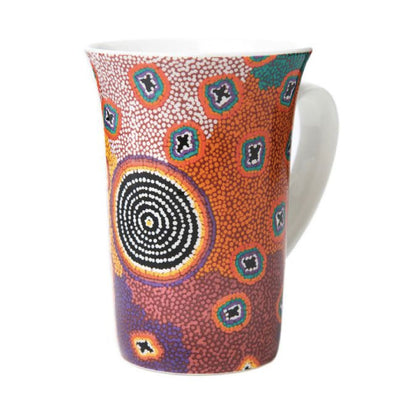 Ruth-Stewart-colourful-aboriginal-mug