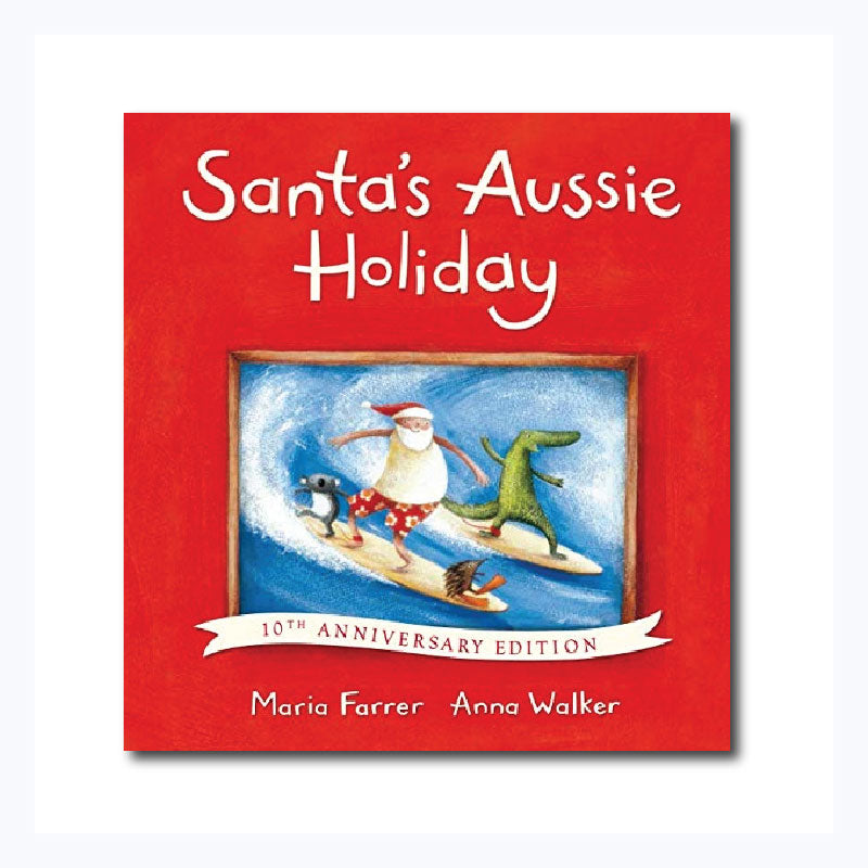 santas aussie holiday childrens christmas book