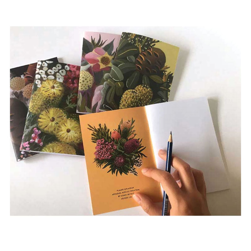 Banksia-Flower-explosion-Notebook-Studio-Ka-Ka