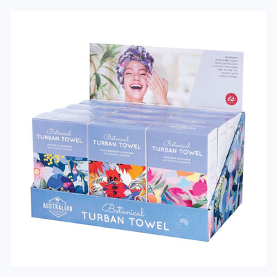 TURBAN TOWEL BOTANICAL RANGE