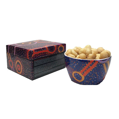 Watson-Robertson-Nut-Bowl-Aboriginal-Design