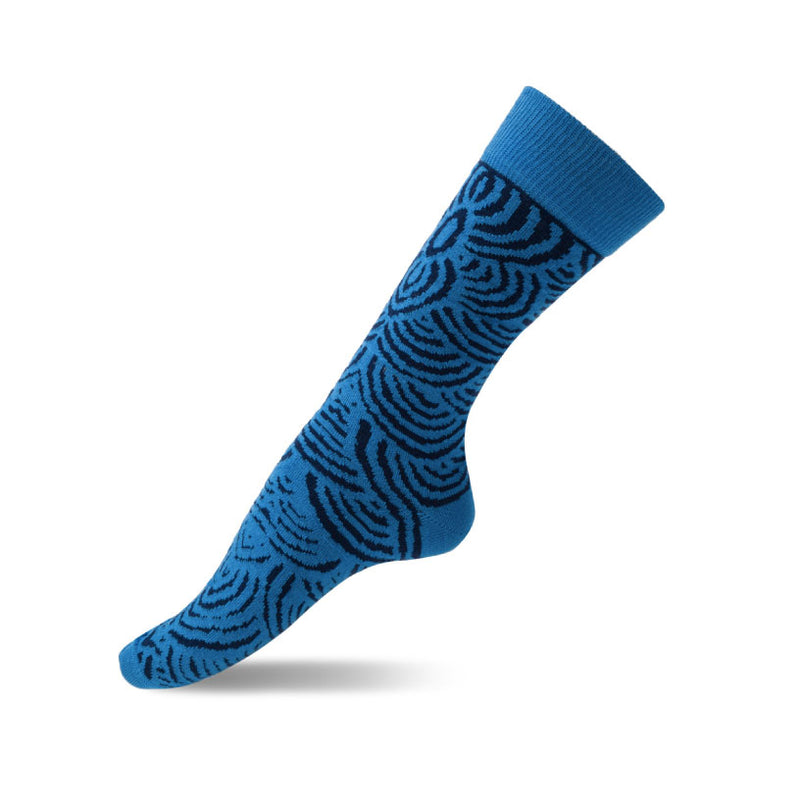 kirsty-brown-blue-aboriginal-design-socks
