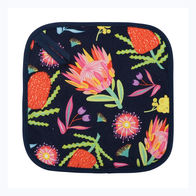pot holder aussie flora