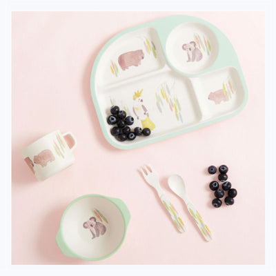 australian animals childrens dining set
