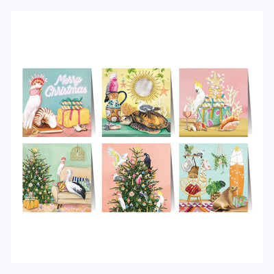 australian christmas greeting cards coastal abode