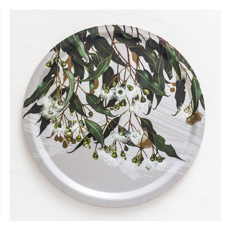 Australian-gift-tray-flowering-marri-gum-bell-art