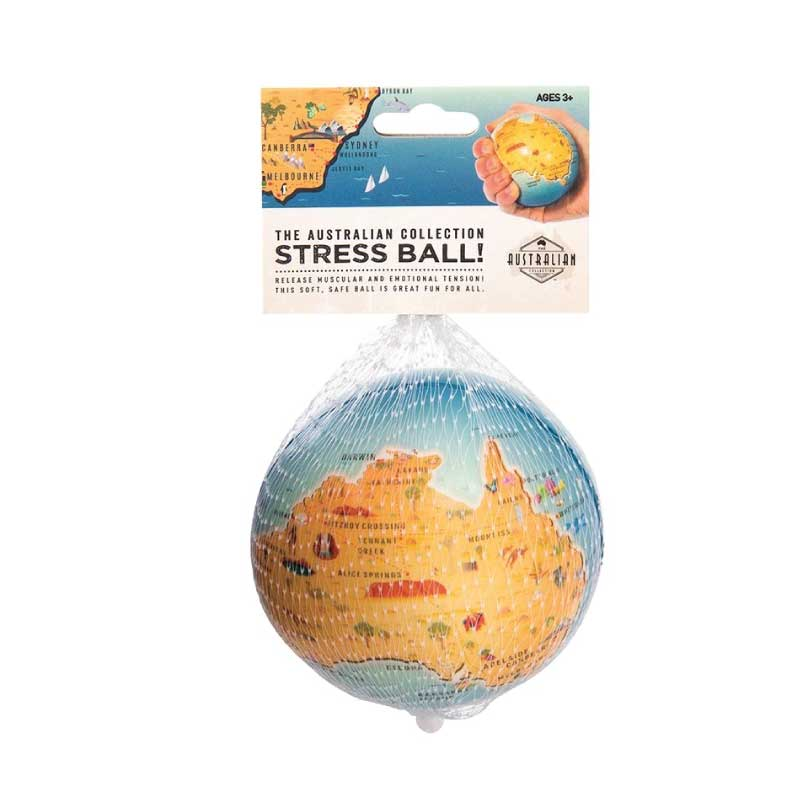 stress ball australian map