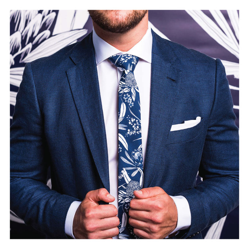 AUSTRALIAN-Natives-FlorAL-TIE-MENS-GIFTS