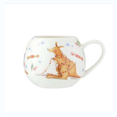 barney gumnut saves xmas childrens mug