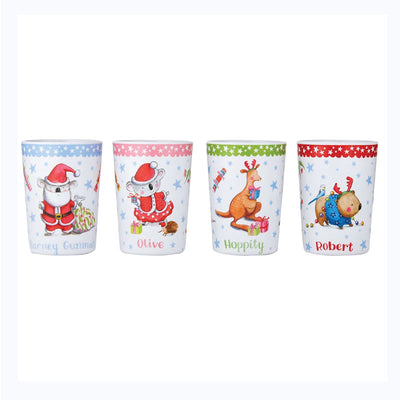 Barney Saves Xmas  - Tumbler Set
