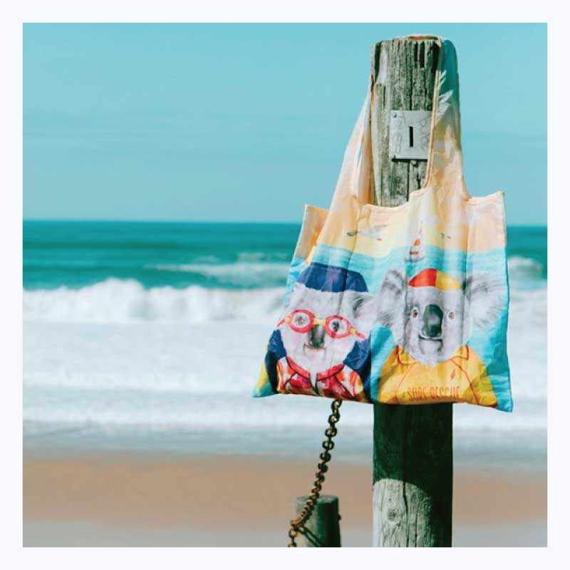 Foldable-shopper-bag-australian-beach-koalas
