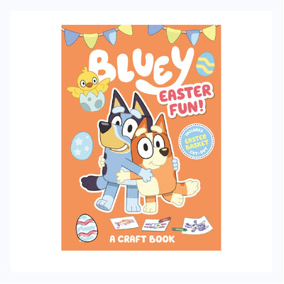 Bluey Easter Fun Craft Book