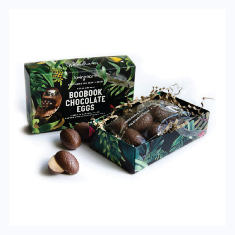 boobook chocolate easter eggs