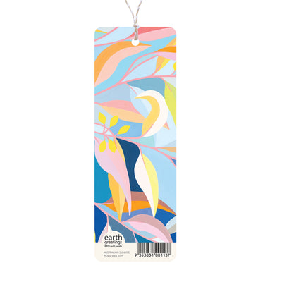 bookmark australian sunrise back double sided thick bookmark