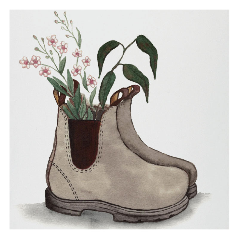 tea towel boot for you fig hill farm australia