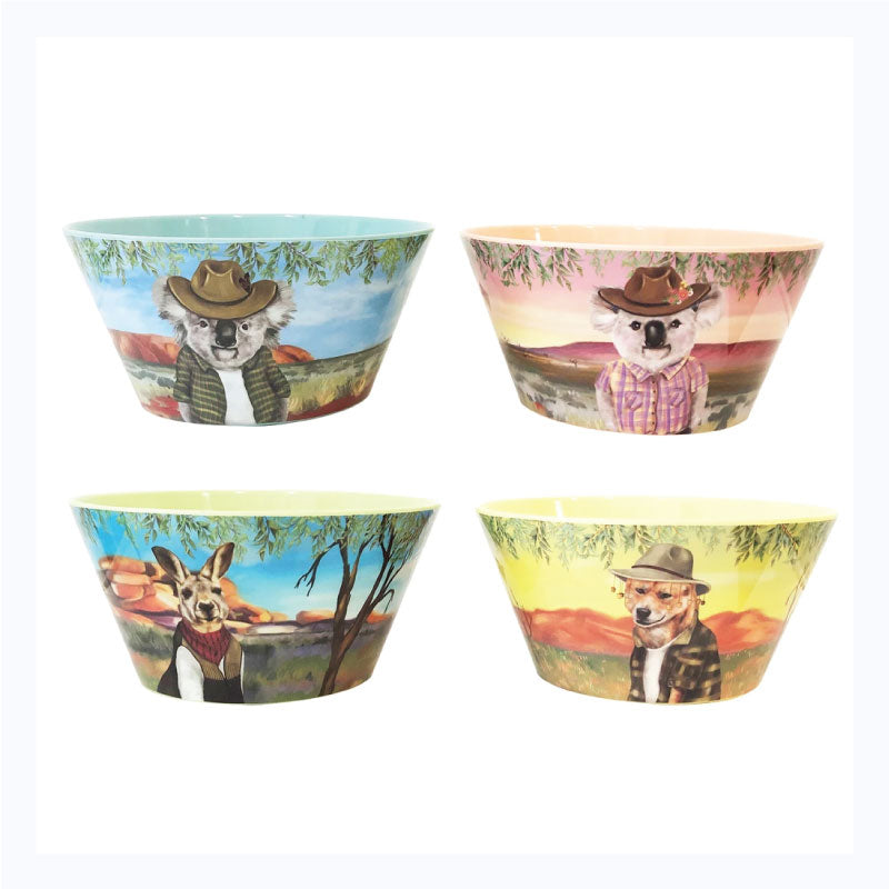 bowl set sunny outback aussie gift