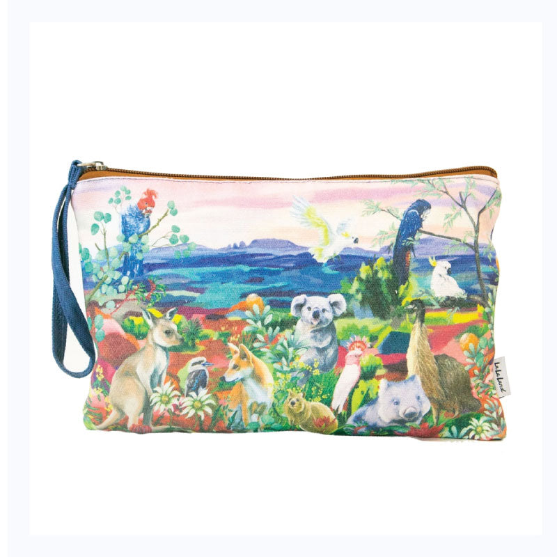 cllutch purse nature dwellings aussie sunset
