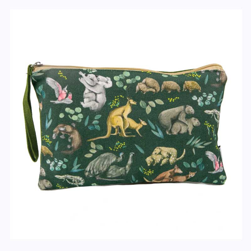 clutch purse wild fur you australiana