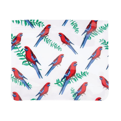 bag crimson rosella