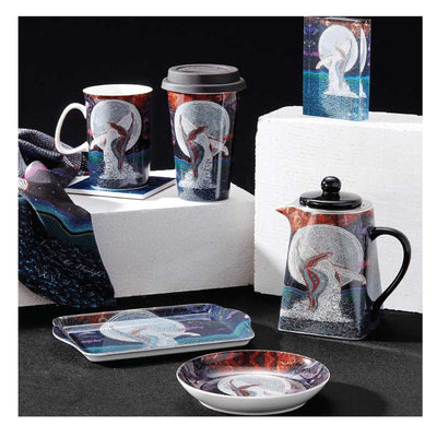 Teapot with Infuser – Dancing in the Moonlight
