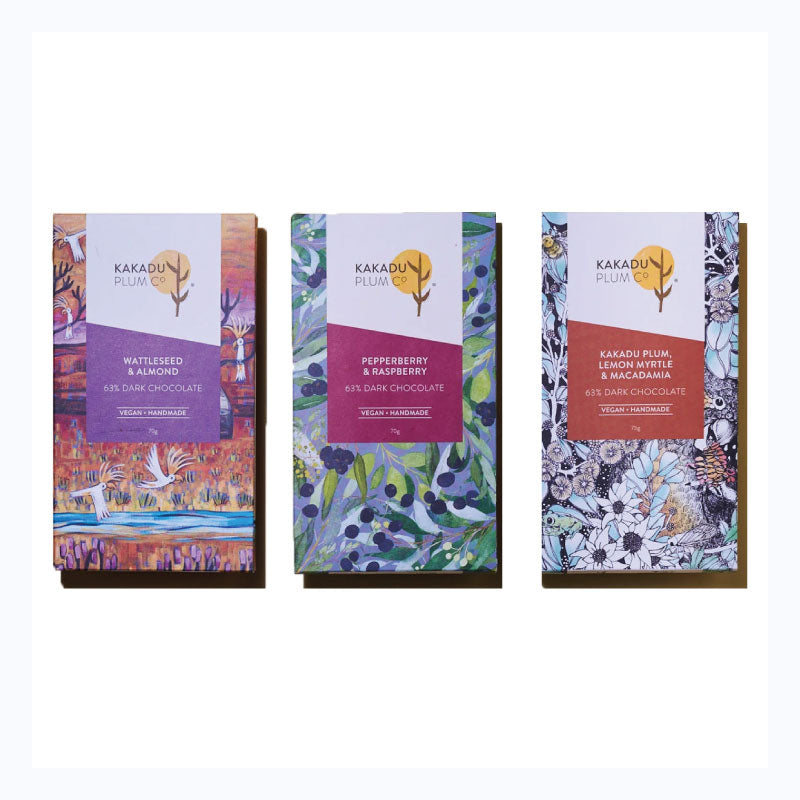 dark chocolate bar australia trio