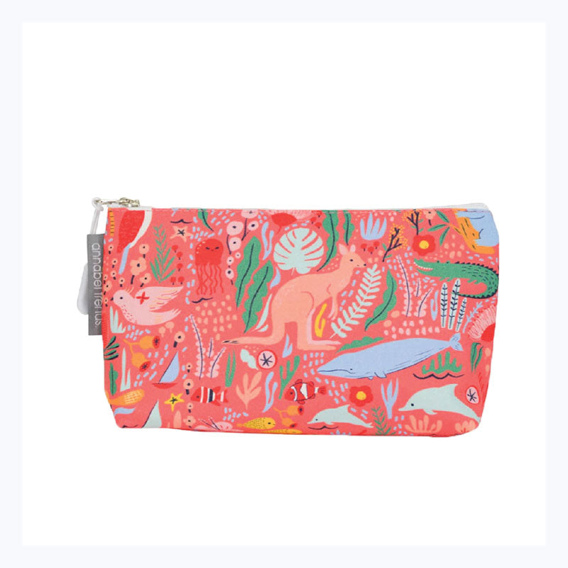 Cosmetic Bag - Down Under Coral