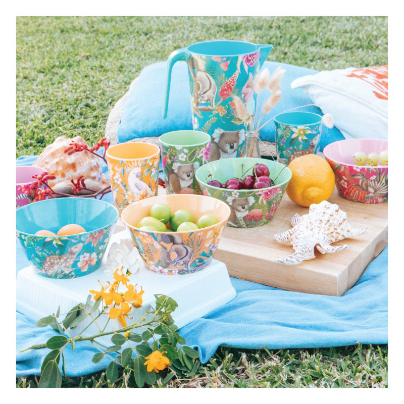 Cup Set- Exotic Paradiso