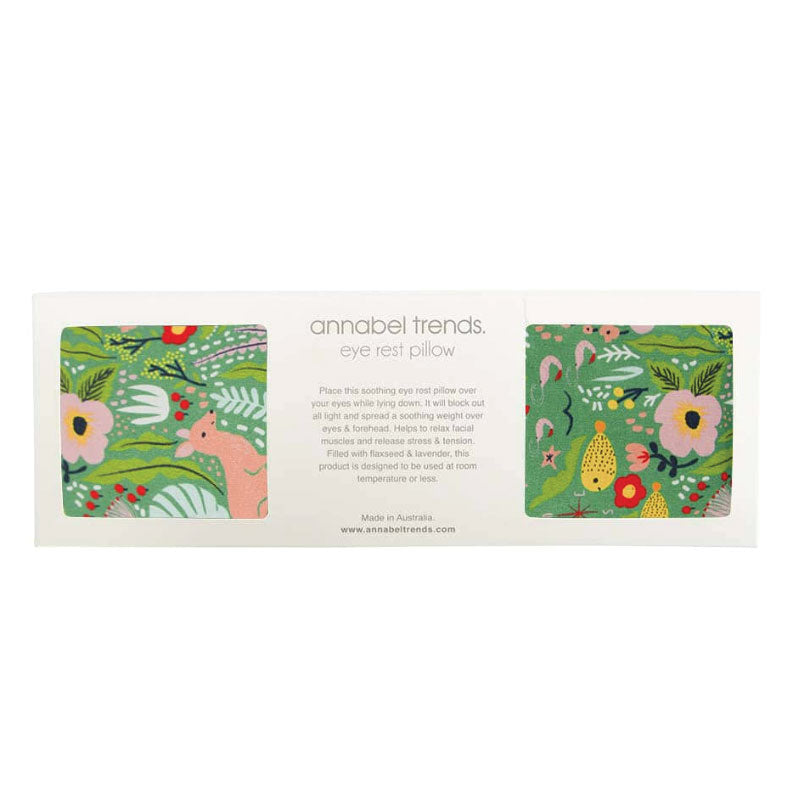 Down Under Green Eye Pillow Annabel Trends
