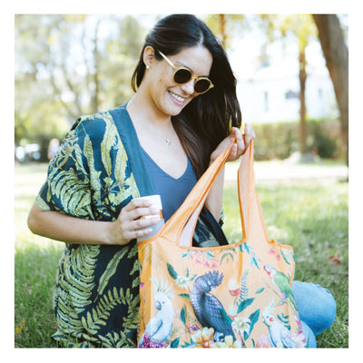 Foldable Shopper Bag Floral Paradiso