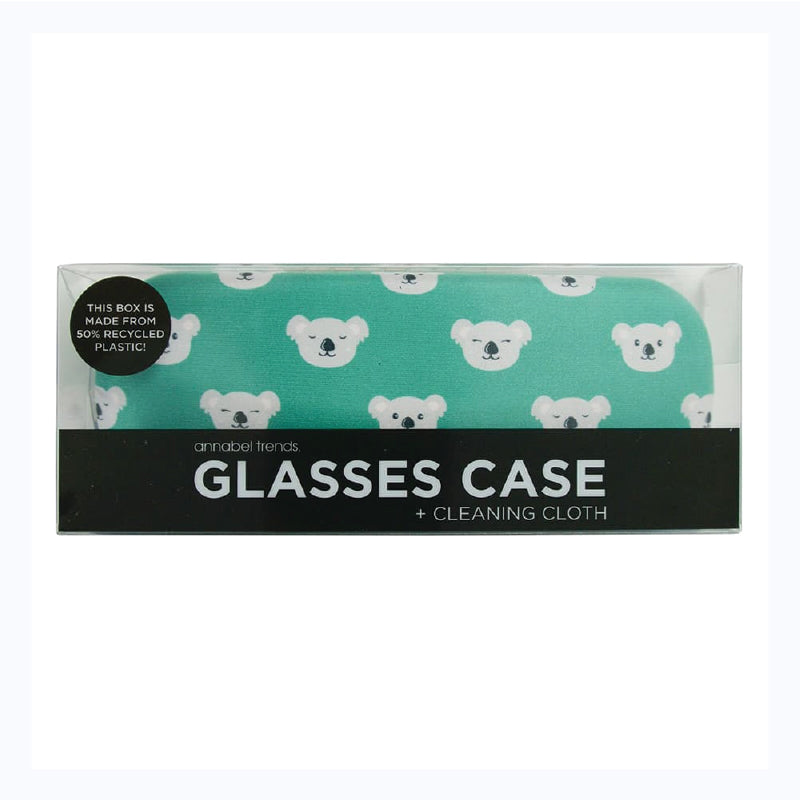 koala glass case and cleaning cloth