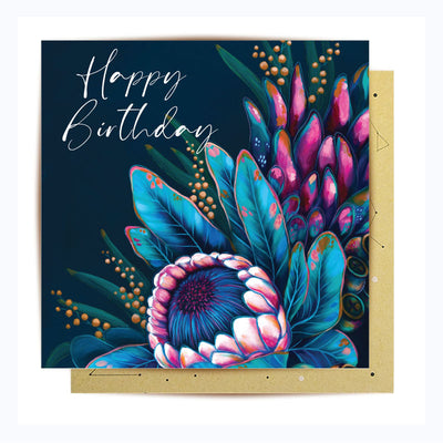 greeting card happy birthday follow your heart