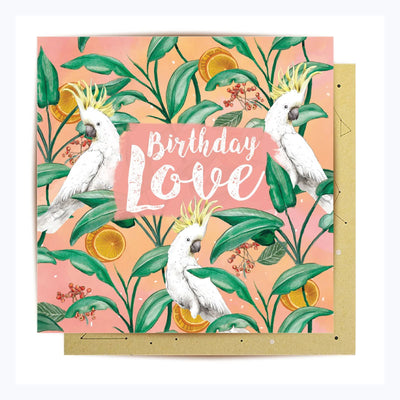 Greeting Card Happy Birthday Love